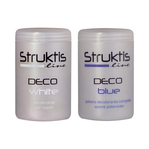 DECO蓝色 - 装饰白色