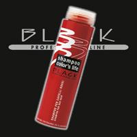 BLACK LINE : barva šampon život - BLACK