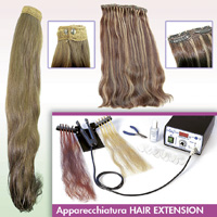 EXTENSIONES 100% DEL CABELLO HUMANO NATURAL - HAIR TRADE