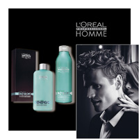 'L' OREAL PROFESSIONNEL HOMME - energic