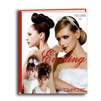 Evening - wedding - up do's - recogidos