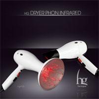 HG džiovintuvas Plaukų džiovintuvas INFRARAUDONŲJŲ SPINDULIŲ - HG